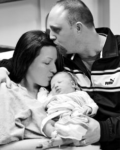 Newborn photography, hospital picture