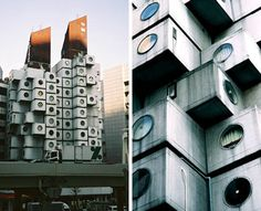 Nakagin Capsule Tower Looks to be From the Future, But Probably Won't Make it There