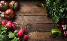 Ingredients for healthy cooking by Foxys on @creativemarket