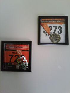Richmond Marathon Nov 2011, Shamrock Marathon March 2012