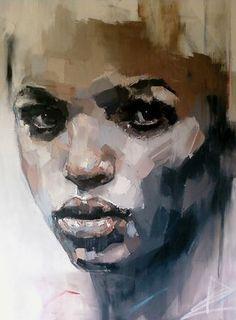South Africa Artist Ryan Hewett (1979) | Mixed medium on canvas .. mainly oils....120x100cm....