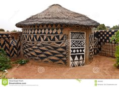 African Adobe Hut Plus