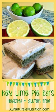 Key Lime Pie Bars -