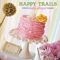 Spring Baby Shower Soirée  Love the Cake!!!  S.C.