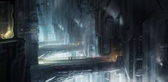 Concept art for Halo 4: Spartan Ops