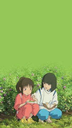 Lockscreens from Hell (PIH) Spirited Away Anime, Studio Ghibli Spirited Away, Studio Ghibli Art, Studio Ghibli Movies, Anime Scenery Wallpaper, Disney Wallpaper, Animes Wallpapers, Cute Wallpapers, Spirited Away Wallpaper