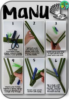 Flax Weaving, Paper Weaving, Kids Craft Box, Art For Kids, Crafts For Kids, Flax Flowers, Weaving For Kids, Maori Art, Free Blog