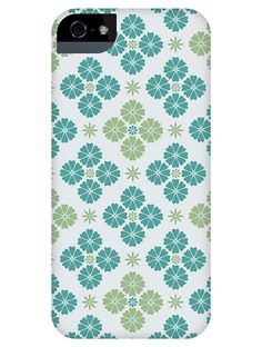 """Keka Classic Snap-on Phone & Tablet Cases – """"Retro Geo Tile"""" by Rebecca Stoner"""
