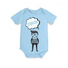 Body Bebé Personalizado Chico-Hipster