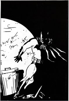 BATMAN ONLINE - Gallery - Batman by David Mazzucchelli from Comic Books (1939)