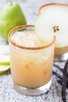 Vanilla Pear Margarita