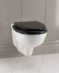 TOILET - More traditional in style than many other wall hung toilets - Wall hung toilet / ceramic ROSE DEVON & DEVON