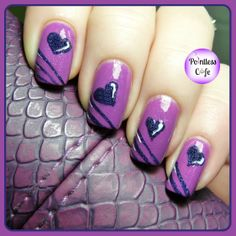Lacquer Legion: Reinvention - Unconventional Shades of Valentine's Day Fingernail Designs, Nail Polish Designs, Cool Nail Designs, Nail Picking, Nails 2015, Basic Nails, Valentine Nail Art, Love Nails, Pretty Nails