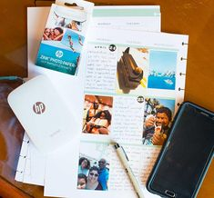 Scrapbooking Anywhere with HP Sprocket