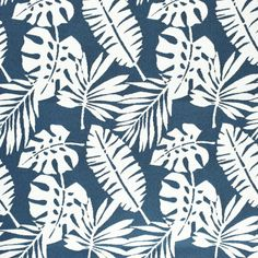 Floral Fabrics | Greenhouse Fabrics Tropical Fabric, Tropical Pattern, Floral Fabric, Floral Prints, Greenhouse Fabrics, Outdoor Fabric, Outdoor Throw Pillows, Deco, Shades Of Blue