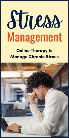 Stress Management Therapy. Chronic #stress makes it almost impossible to cope with daily responsibilities, focus, or think clearly. Online #therapy can be really helpful to manage, beat and overcome #stress. Sign up for #free today! Mental Health Disorders, Mental Health Conditions, Chronic Stress, Anxiety Tips, Panic Attacks, Cognitive Behavioral Therapy, Negative Thoughts, Positive Mindset, Wellness Tips