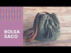 Crochet Bag Tutorials, Crochet Videos, Crochet Projects, Love Crochet, Diy Crochet, Single Crochet, Crochet Designs, Easter Crochet, Knitting Tutorials