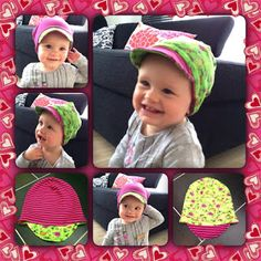 "Samsiny: FREEBOOK ""Pfiffimuts"" Größen 44-58 Sewing For Kids, Diy For Kids, Sewing Tutorials, Sewing Crafts, Hacks Diy, Kids And Parenting, Caps Hats, Baby Dress, Winter Hats"