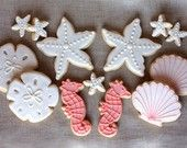 baby shower turquoise fish sea ocean blue mermaid victorian white whimsy