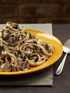 Forks over Knives Vegan Chef Del's Mushroom Stroganoff
