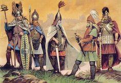 A origem dos portugueses De Celtas a Romanos, de Lusitanos a Fenícios, de Suevos a Visigodos, de Árabes a Judeus... A mistura de povos que explica a origem dos portugueses.