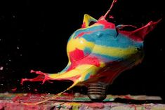 Light Bulbs - High speed photography