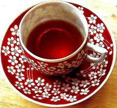 Porcelanowy komplet do herbaty w 3D
