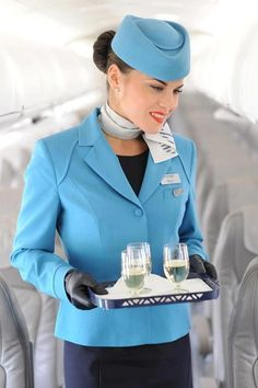 Adria Airways,  flight attendant uniforms have come into the stylish new world of fashion.