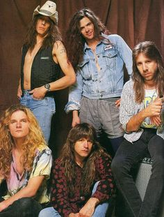 Tesla in 1993 Hair Metal Bands, 80s Hair Bands, Mr Big, Glam Metal, Music Love, Rock Music, Music Music, Music Lyrics, Tesla Band