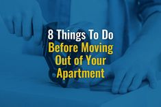 8 Things To Do Before Moving Out of Your Apartment Moving Stress, Moving Day, Moving Tips, Moving Out Checklist, Move Out Cleaning, Change Your Address, My First Apartment, Apartment Communities, Keys