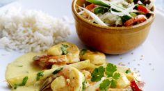 Met zelfgemaakte currypasta
