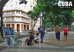 On Sundays, the Paseo de Prado in Old Havana turns into an open art gallery. You can find the most inspiring art here and bring a Cuban masterpiece back home.                                                                           20 July 2013