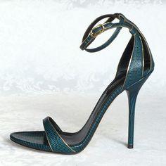 NEW ARRIVAL! #DolceGabbana leather ankle wrap #sandals! #designer #shoes #heels