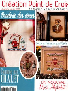 LOTS of great cross stitch designs in this magazine! Gallery.ru / Фото #1 - point de croix part 1 - Katrona