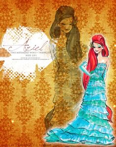 Disney Designer Princesses: Ariel - disney-princess Fan Art