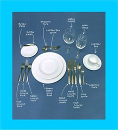 ✜ Table setting ✜