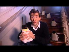 CBeebies Bedtime Stories - 147 - How High Is the Sky  Two of my favorite things!!! David Tennant & Penguins <3
