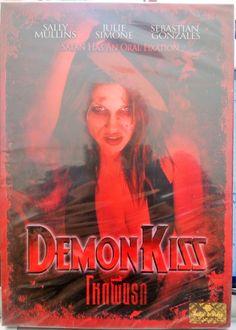 Demon Kiss (2008) - DVD PAL COLOR -  Jessica T. Perez, Demonic Prostitute Horror