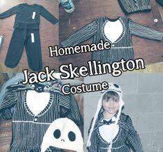 DIY Jack Skellington costume
