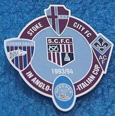 A.C. Padova-Cosenza calcio-A.C. Fiorentina-Pescara-Stoke City F.C. Stoke City Fc, Badge, Italy, Button Badge, Badges