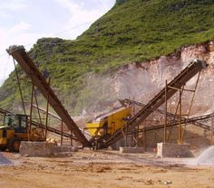 What is a mining crusher. Mining crusher machinery is configured to break down very hard material, such as stone, into small rocks, gravel, or stone powder.