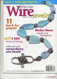 top left arrow takes you to book pages Jewelry Tools, Metal Jewelry, Jewelry Crafts, Jewelry Art, Beaded Jewelry, Jewelry Making, Diy Jewellery, Handmade Beads, Handmade Jewelry