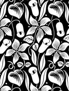 free printable adult coloring page art deco floral lilies flower coloring picture colouring sheet for adults pdf coloring sheet to print at home for grownups
