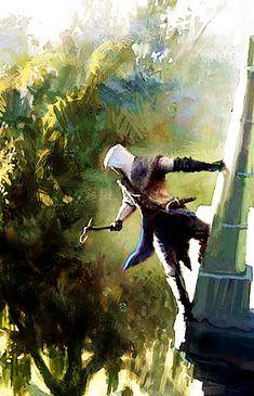 Assassins Creed III : Concept Art