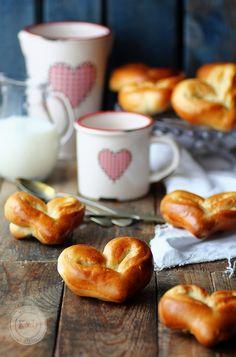 Milk Bread Hearts | Kanela y Limón