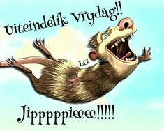 G Morning, Afrikaanse Quotes, Goeie Nag, Happy Friday, Funny Pictures, Funny Pics, Humor, Cat Cat, Girlfriends
