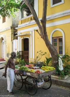Pondicherry....where the early days of the Life of Pi was set