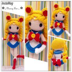 "My favourite anime character 'Sailor Moon' ❤️ 美少女战士 ""月野兔"""