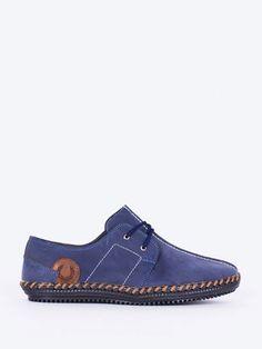 Pantofi sport eleganti pentru barbati Polo I - albastru