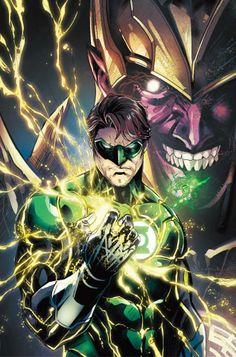 Green Lantern (Hal Jordan) and Sinestro